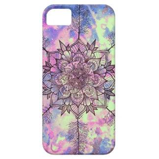 Galaxie-Baum-Mandala iPhone 5 Etui