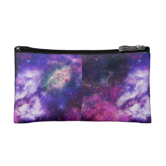 Galaxie-Bleistiftkasten lila Makeup-Tasche