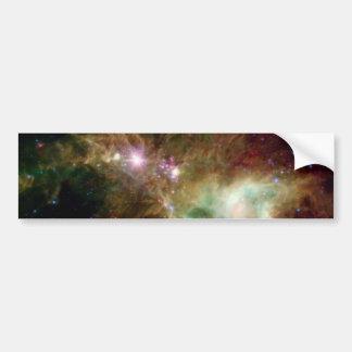 Galaxie d'arbre de Noël Autocollant De Voiture