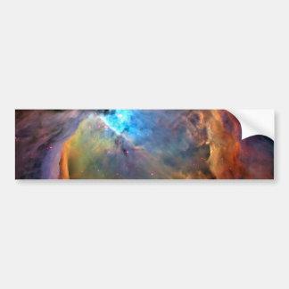 Galaxie de l'espace de nébuleuse d'Orion Autocollant De Voiture