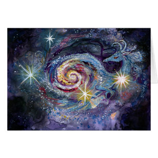 Galaxie-Drache Karte