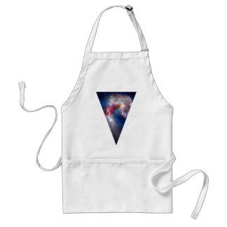 Galaxie-Dreieck Schürze