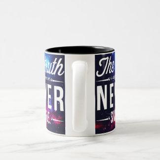 Galaxie-einfache Wahrheits-Tasse Zweifarbige Tasse