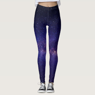 Galaxie-Gamaschen Leggings