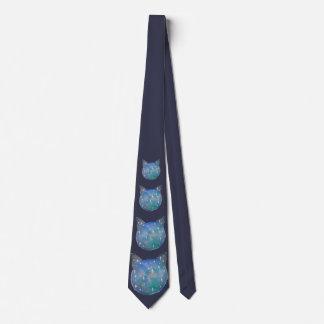 Galaxie-Katzen-Krawatte Personalisierte Krawatten