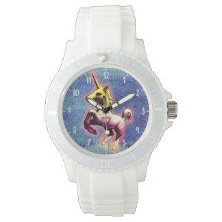 Galaxie-Schimmer der Einhorn-Armbanduhr-| Armbanduhr