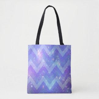 Galaxie-Zickzack Taschen-Tasche Tasche