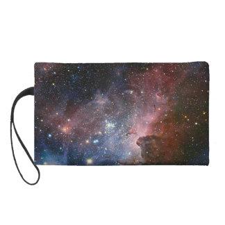 Galaxiebleistiftkasten/bilden Kasten Wristlet Handtasche