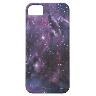 galaxy pixels iPhone 5 hülle