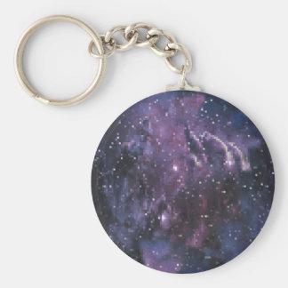 galaxy pixels schlüsselanhänger