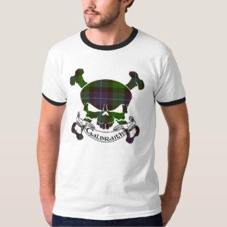 Galbraith Tartan-Schädel T-Shirt