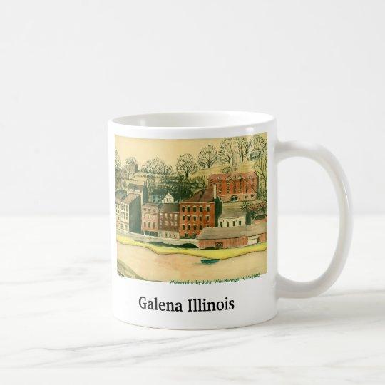 Galena Illinois, Aquarell Tasse