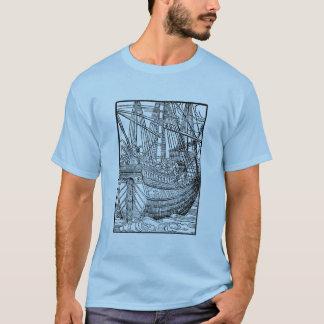 Galleon Segelschifft-shirt T-Shirt