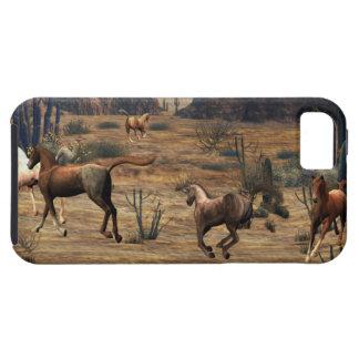 Galoppierende Pferde iPhone 5 Hülle