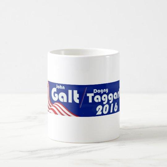 Galt/Taggert - Atlas zuckt Kaffeetasse