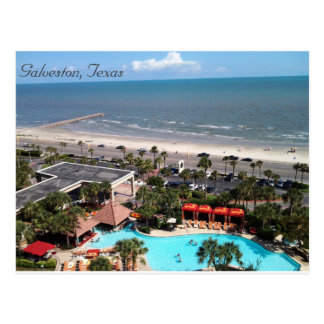 Galveston, Texas Postkarte