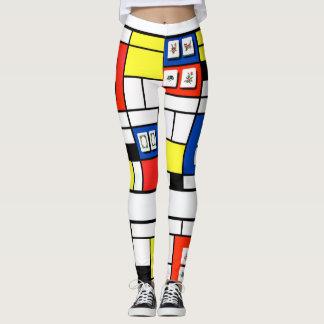 Gamaschen Milliamperestunde Jonng-Mondrian Leggings