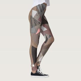 """Gamaschen mit """"Dreieck-Sierra"""" Entwurf Leggings"""