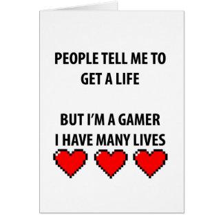 Gamer-Leben Karte