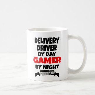 Gamer-Lieferungs-Fahrer Kaffeetasse
