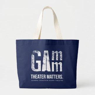 Gamm Theater - Theater-Angelegenheiten - Jumbo Stoffbeutel