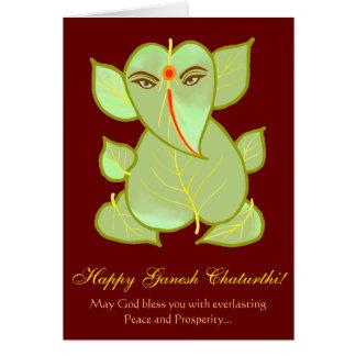 Ganesh Chaturthi Grüße Karte