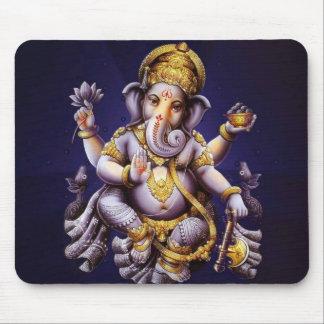 Ganesh Ganesha asiatischer Elefant-Gottheit Mousepad