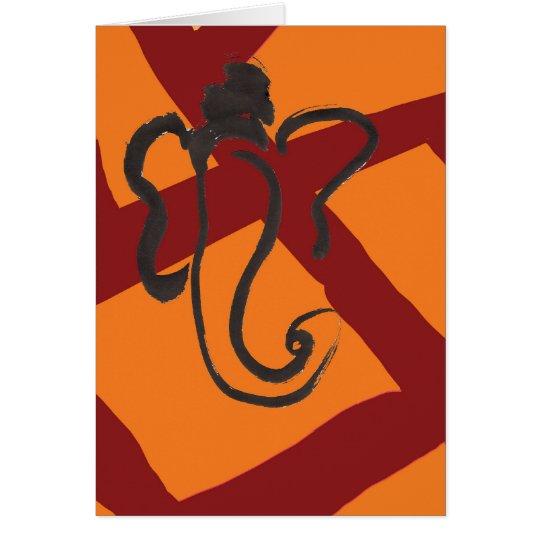 Ganesha 02 mitteilungskarte