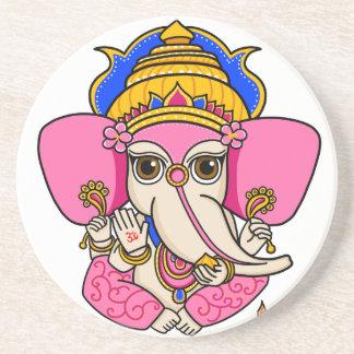 Ganesha Getränkeuntersetzer