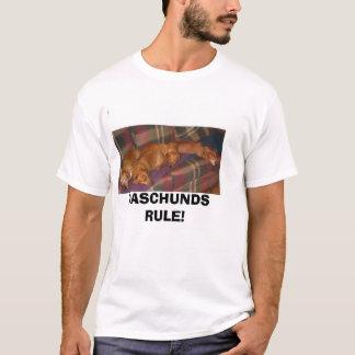 gang1a, DASCHUNDS REGEL! T-Shirt
