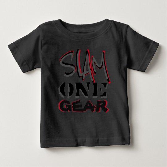Gang des Knall-einer Baby T-shirt