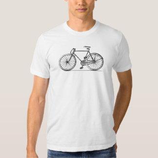 Gang-Fahrrad-T - Shirt der Fahrradantike örtlich