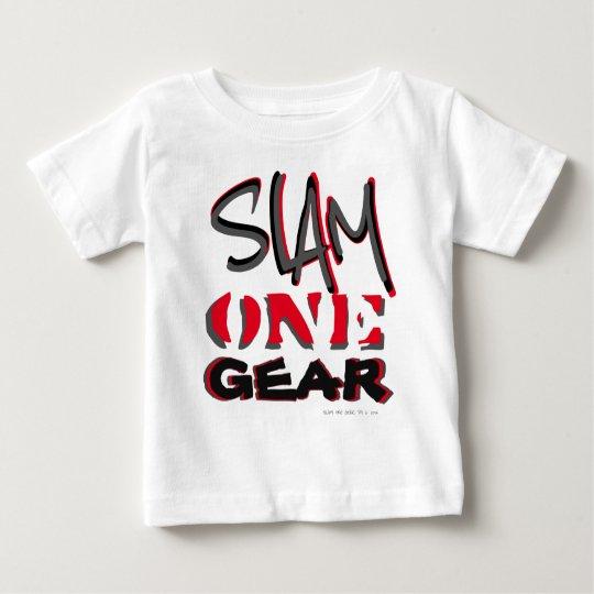 Gang-Shirt des Knall-einer Baby T-shirt