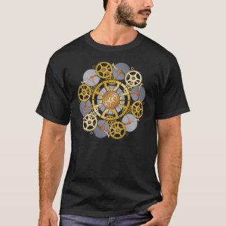 Gang-und Zahn-Mandala-Entwurf T-Shirt