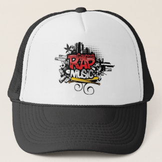 GANGSTA RAP MUSIC - Kappe Cap Mütze Basecap Caps