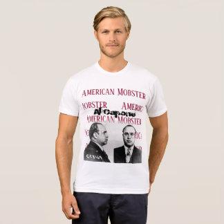 Gangster-Weiß-T-Shirt Al Capones amerikanisches T-Shirt