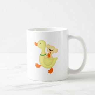 Gans und Bär Kaffeetasse