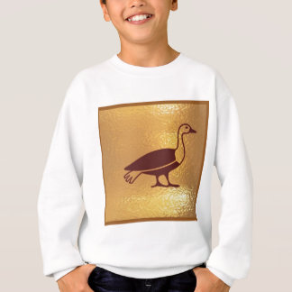 GANS-VOGEL GOLDEN SWEATSHIRT