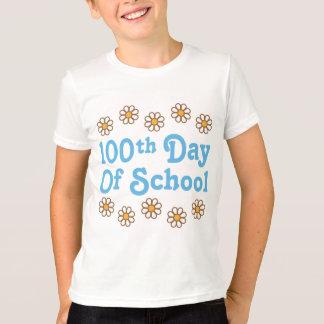 Gänseblümchen-100. Tag des Schullehrer-Geschenks T-Shirt
