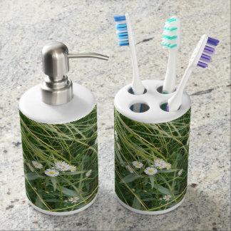 Gänseblümchen Badezimmer-Set