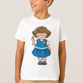 Gänseblümchen brünett T-Shirt