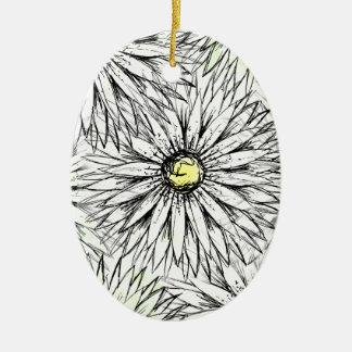 Gänseblümchen Keramik Ornament