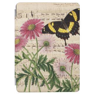 Gänseblümchen-Schmetterlings-Musik iPad Air Hülle