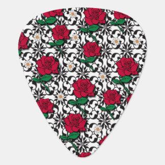 Gänseblümchen-und Rosen-Kunst Plektrum