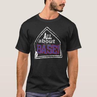 Ganz über die Basis - Baseballt-shirt T-Shirt