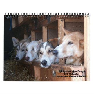 Ganz über die Hunde Abreißkalender