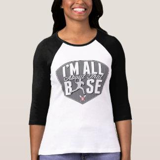 Ganz über diesen niedrigen Baseball-T - Shirt