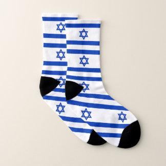 Ganz über Druck-Socken mit Flagge von Israel Socken