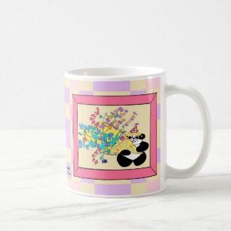 Ganzes Bündel alles Gute zum Geburtstagwünsche Kaffeetasse