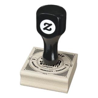 Garantie 3-Jahr-Briefmarke Gummistempel
